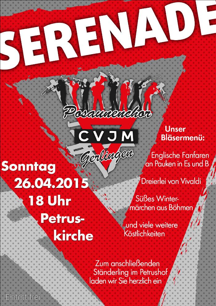 Plakat PC Gerlingen Serenade 2015